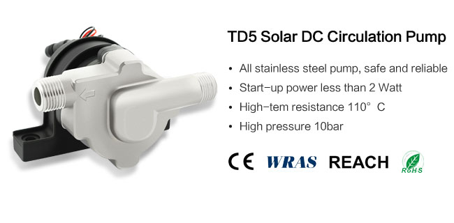 solar dc circulation pump