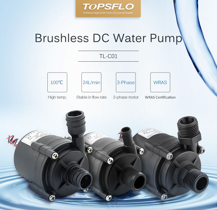 brushless 24v 12v mini dc water pump,Electric Instant Water Heater Pump